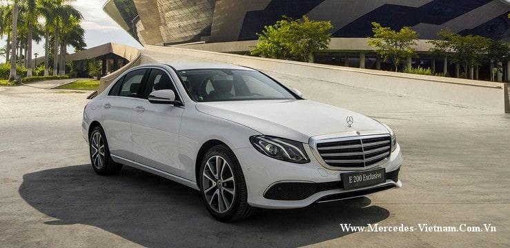 Tiền mặt 2 tỷ đồng chọn Mercedes C200 Exclusive hay là Mercedes E200 Exclusive ?