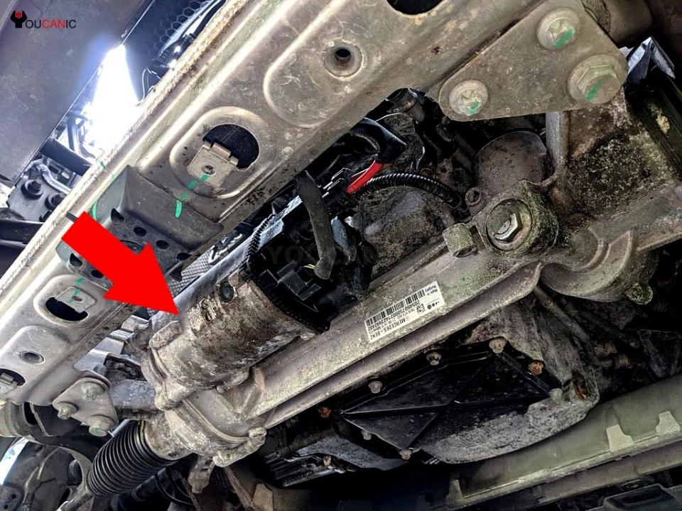 Lỗi này Power steering malfunction là lỗi gì trên xe Mercedes-Benz