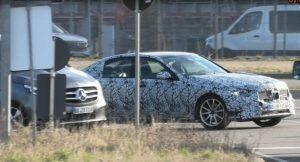 Mercedes C Class 2022 lộ diện những hình ảnh thử nghiệm