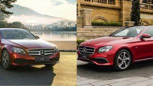 Mercedes E180 2021 mới có khác gì so với Mercedes E200 Sport năm 2019
