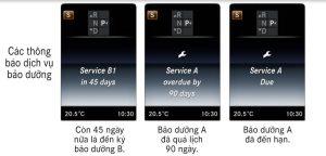 Thông báo service A Due, service A Overdue by 90 day, service B2 in 45 là gì ?