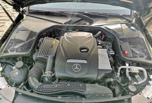 Động cơ Mercedes C180 2021 tinh chỉnh mạnh mẽ đáng gờm
