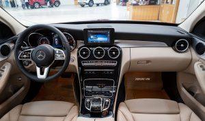 Cảm nhận sự sang trọng đẳng cấp từ NỘI THẤT Mercedes C180 2021