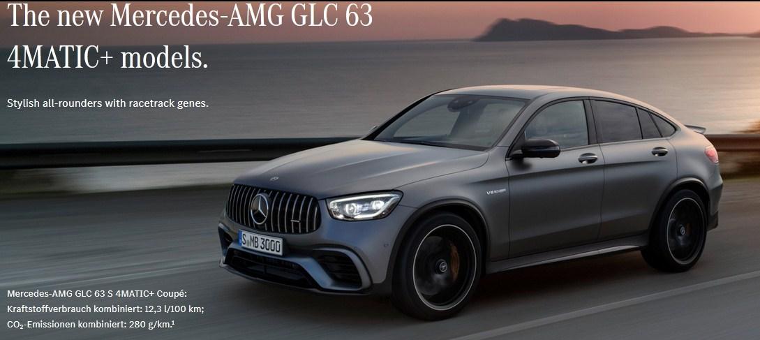 Hoàn Toàn Mới Mercedes-AMG GLC 63 4MATIC+