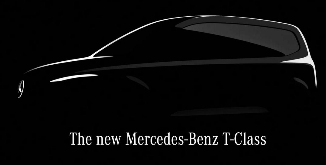 Năm 2022 Mercedes-Benz sẽ ra mắt Mercedes  T-Class Compact Van