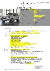 Thông số kỹ thuật Mercedes GLS 450 7 chỗ 2021