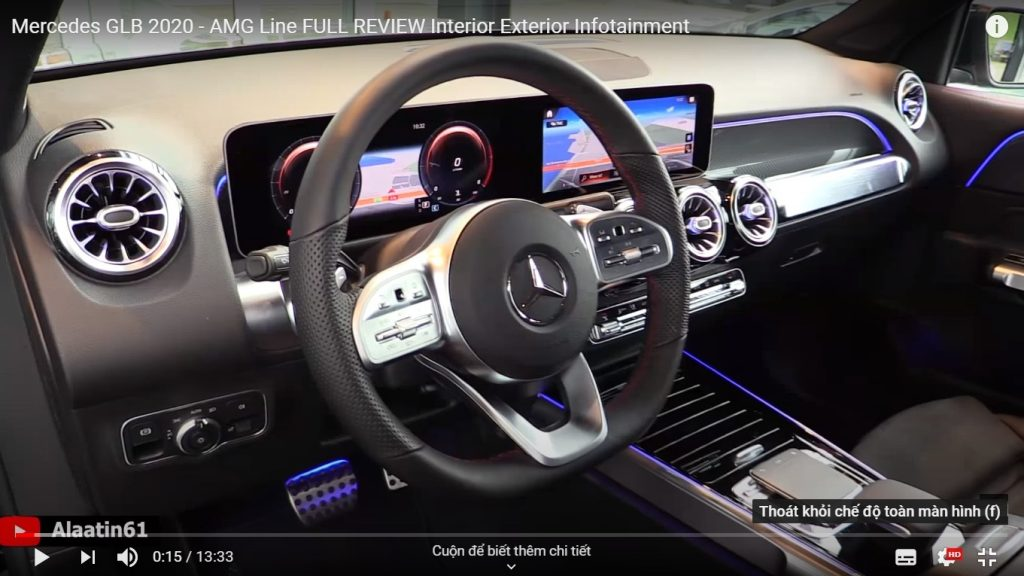 Video Mercedes-Benz GLB model 2020 phiên bản AMG sắp ra mắt tại Việt Nam
