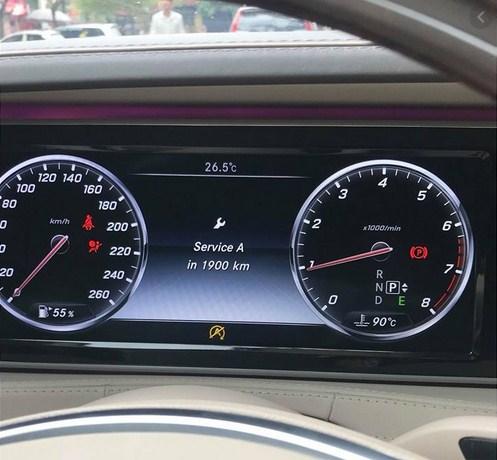 Bảo dưỡng lần đầu Service A của Mercedes-Benz hết bao nhiêu tiền ?