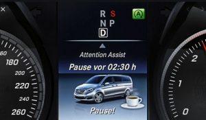 Cảnh báo Attention Assist trên xe Mercedes-Benz là gì ?