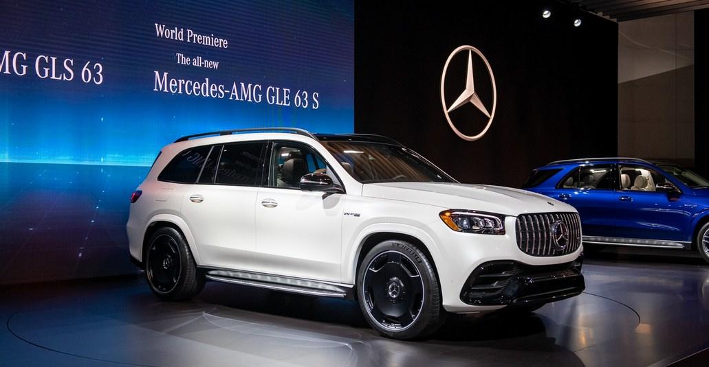 Mercedes-AMG GLS63 2021 cực đẹp và Chất