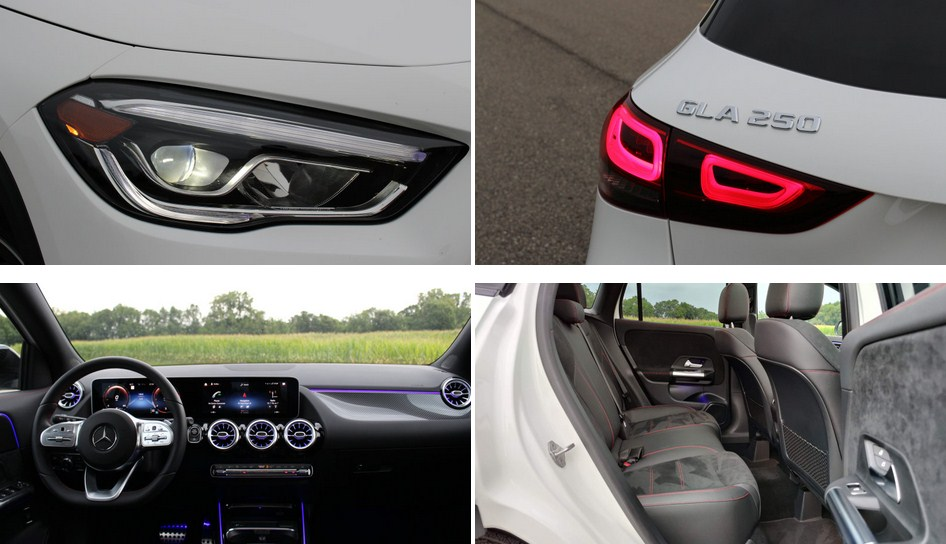 Mercedes GLA 250 2021 mang trên mình một diện mạo mới