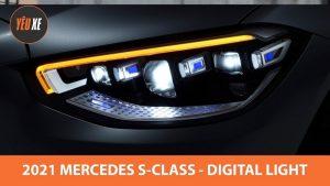Mercedes S Class 2021 sẽ được trang bị đèn DIGITAL LIGHT mới