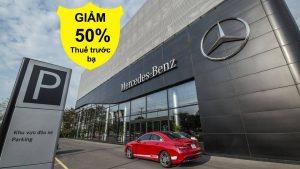 Những mẫu xe nào của Mercedes-Benz đang được giảm thuế trước bạ ?