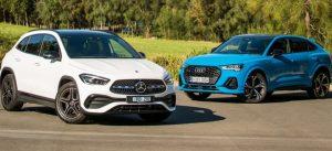 Đánh giá so sánh Mercedes GLA 2021 với Audi Q3 Sportback