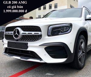 Giá xe Mercedes GLB 200 AMG mới là 1.999.000.000 VNĐ