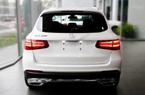 Đèn sau của Mercedes GLC 200 2021 và Mercedes GLC 200 2019 có gì khác ?