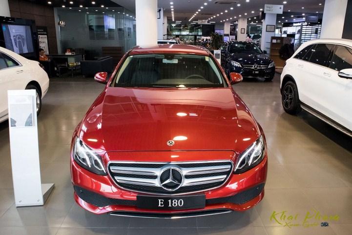 Bảng giá lăn bánh Mercedes E180 2021