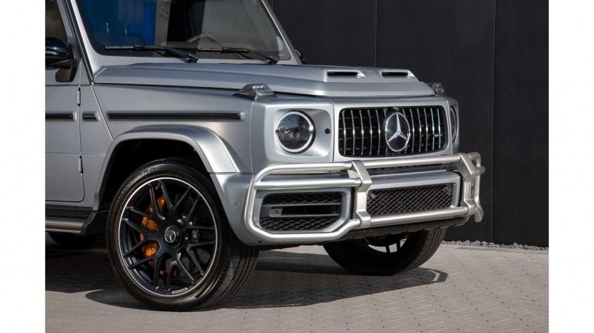 Ngoại thất Mercedes-AMG G63 2021 có gì đặc biệt?