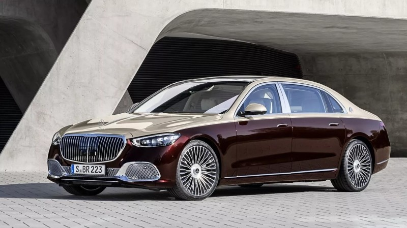 Mercedes-Maybach S680 2021