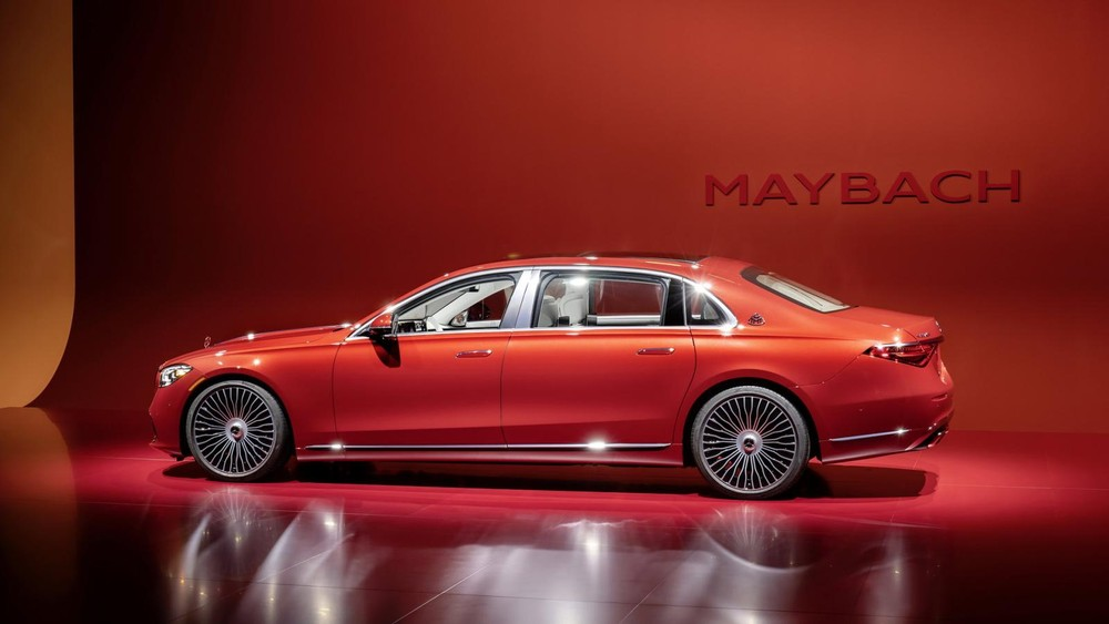 Mercedes Maybach S680 2021