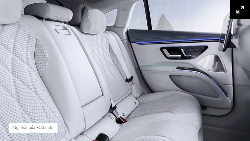 Chiếc xe Điện Mercedes EQS Xe điện đầu tiên trong phân khúc hạng sang