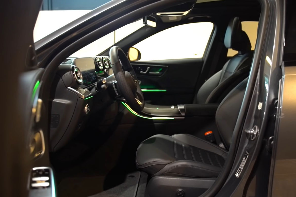Mercedes C-Class 2022 hoàn toàn mới thiết kế TUYỆT ĐẸP