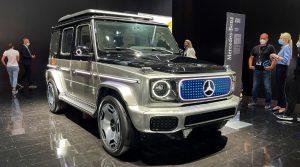 Mercedes-Benz Concept EQG Cái nhìn đầu tiên: xe G Chạy điện