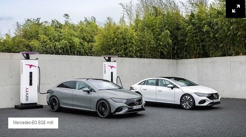 Mercedes EQE 2022 ( Mercedes E Class chạy điện ) : tiên phong kinh doanh mới