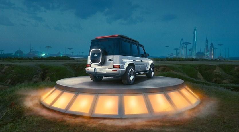"""Mercedes EQG ( G-Class) - """"Mạnh mẽ hơn thời gian sẵn sàng cho bước chuyển mới xe điện"""